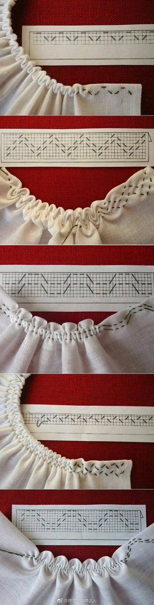 Different #smocking patterns and how they gather.