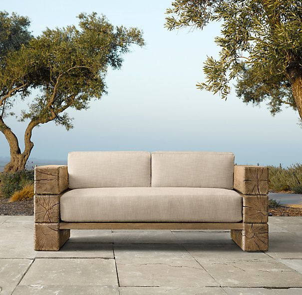 25 best ideas about restoration hardware outdoor on for Sofa tela nautica