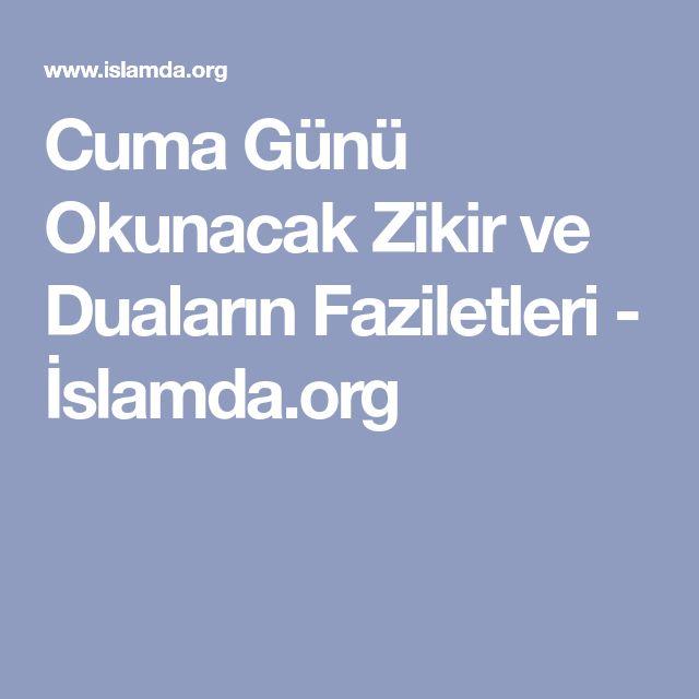 Cuma Günü Okunacak Zikir ve Duaların Faziletleri - İslamda.org