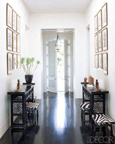 Megan Mullally Nick Offerman House Celebrity Home Decor Elle Decor