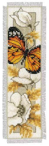 MariesCrossStitch.co.uk - Multi Coloured Butterfly Bookmark Cross Stitch Kit, £9.27 (http://mariescrossstitch.co.uk/multi-coloured-butterfly-bookmark-cross-stitch-kit/)