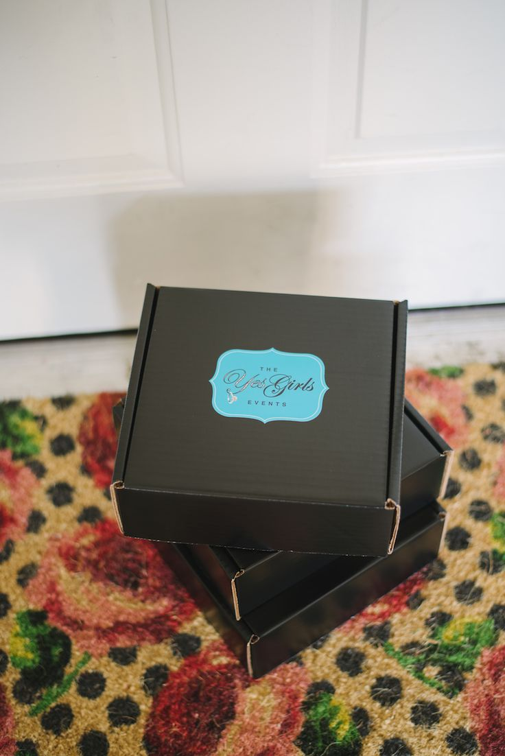 An all inclusive GIFT BOX for a recently engaged gal pal! YES PLEASE!!!