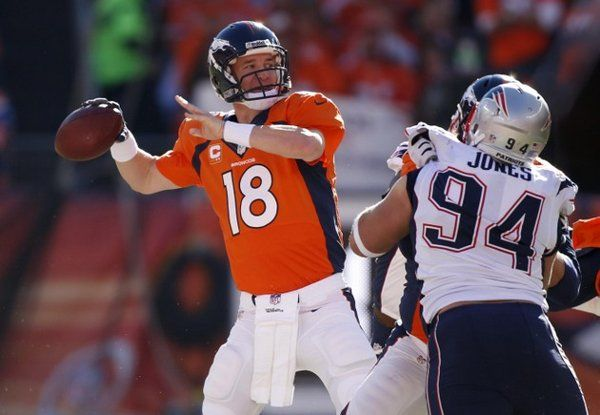 Behind Peyton Manning, the Broncos beat the Patriots and advance to the SuperBowl Sports #Football #NFL