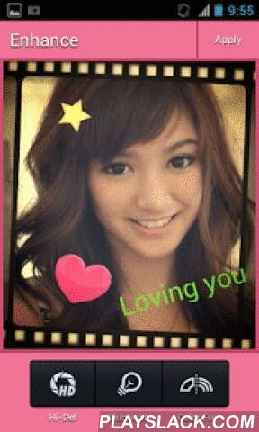 "Wink Camera - Makeup  Android App - playslack.com , Wink Camera is a photo editor and let's you create photo of you style.There are many tools you need, edit and share.- Share photo- One-tap auto enhance - Gorgeous photo effects and frames- Fun stickers- Color balance- Crop, rotate, and straighten your photo- Adjust brightness, contrast, color temperature, and saturation- Sharpen and blur- Color temperature (""Warmth"")- Color Splash- Focus (Tilt Shift)- Draw and add text- Create your own…"