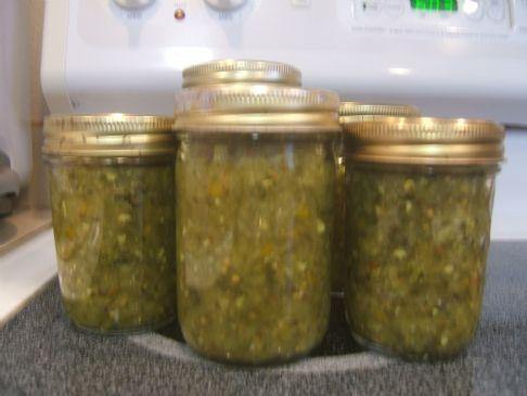 Spicy Dill Pickle Relish Recipe