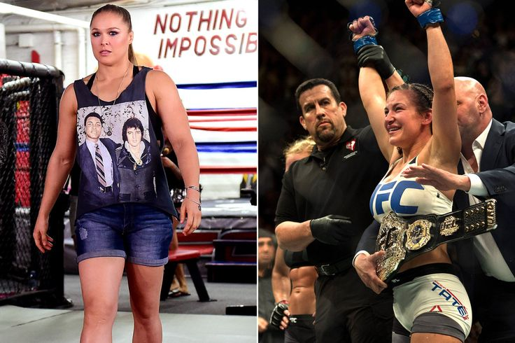 Ronda Rousey's motivated response to Miesha Tate shocker...: Ronda Rousey's motivated response to Miesha Tate shocker… #ConorMcGregor