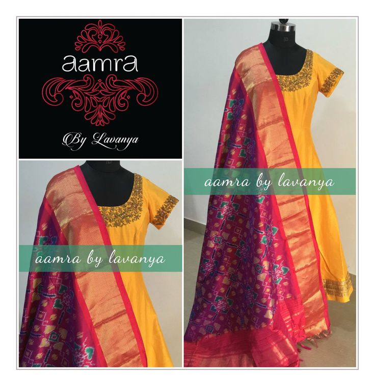 For details and colour customisation  please call/watsapp on +91-9177363970 or email to aamrabylavanya@gmail.com aamrabylavanya  aamrabylavanyacollection  ikkatdupatta  festive  indiandesigner  colourful  zardozi  zardoziembriodery  traditionallook  09 January 2017