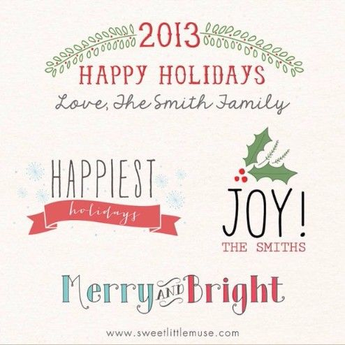 25 best 25+ Printable Holiday Card Templates – Word,PSD,Ai ...