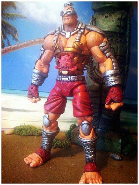 Teenage Mutant Street Fighter Turtles...Krang-Gat (Teenage Mutant Ninja Turtles) Custom Action Figure
