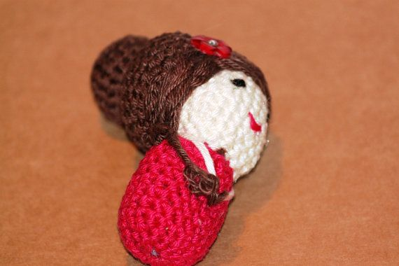 Thai girl miniature amigurumi