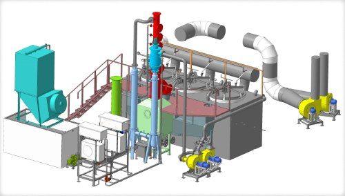 """Пиролизная установка утилизации """"Пиротекс"""": переработка шин, покрышек, РТИ, пластмасс, пэт, полиэтилена, нефтешламов, отработанных масел."""