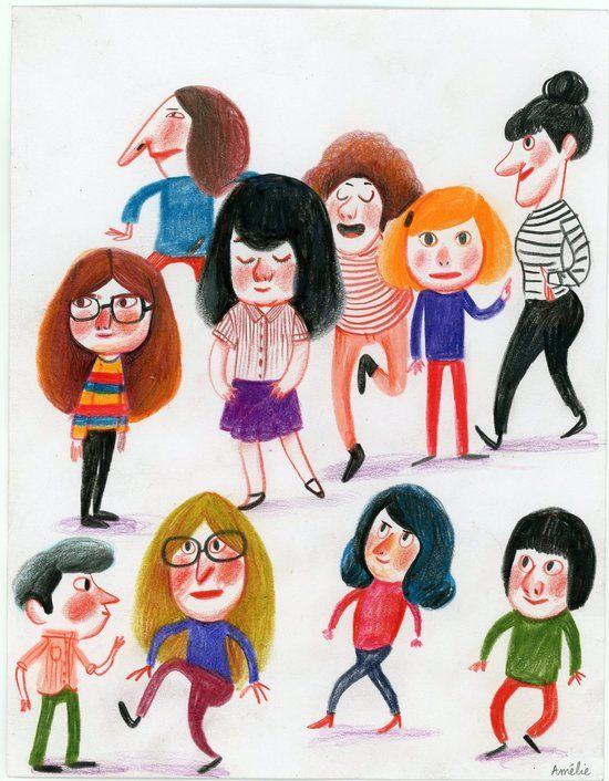 Le book d'Amélie Graux Portfolio : Jeunesse