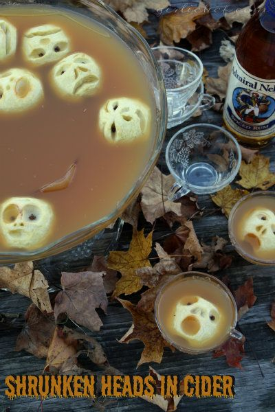 girlichef: Shrunken Heads in Spiced Cider {#SundaySupper}