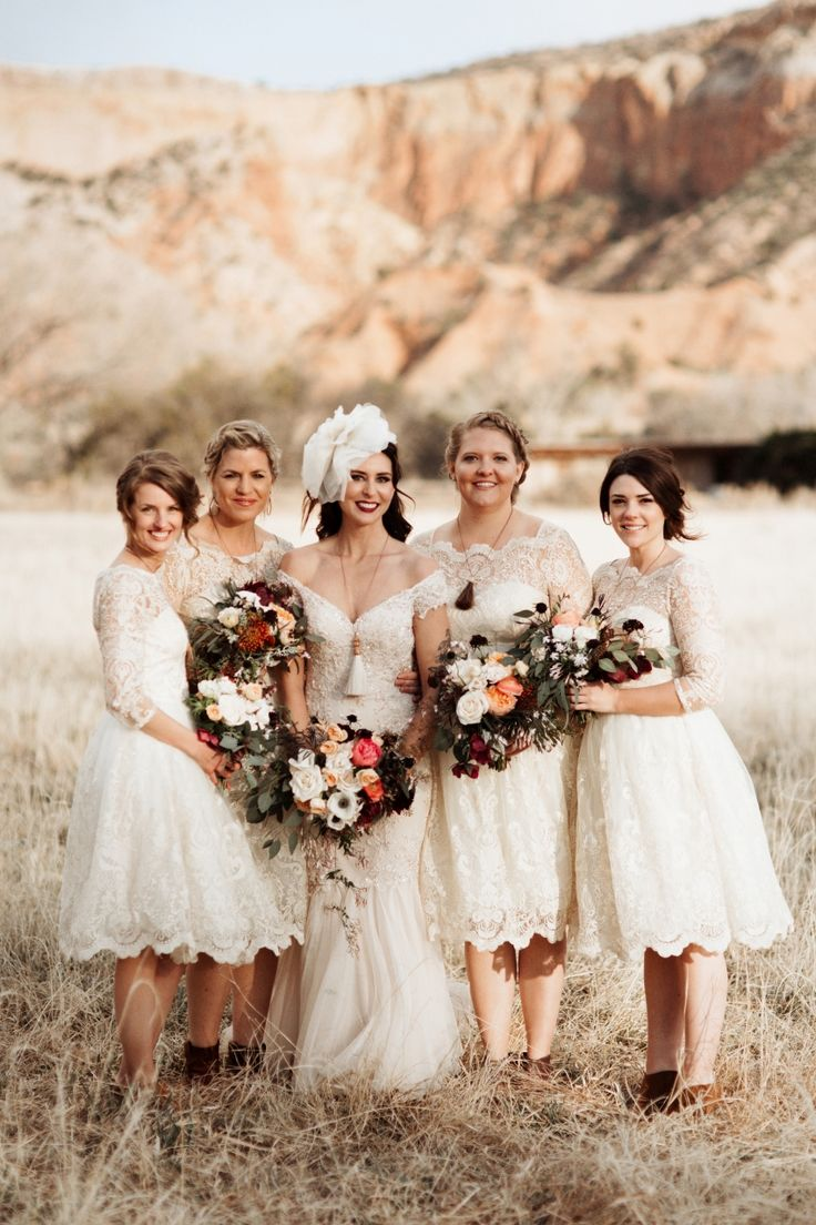 672 best bridesmaids images on pinterest a glamorous rustic vintage wedding at ghost ranch ombrellifo Images