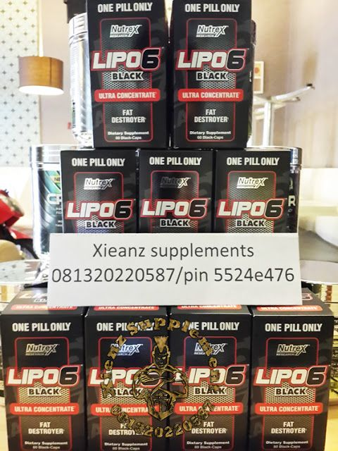 Xienz Supplement: LIPO 6 BLACK SUPLEMENT FITNES