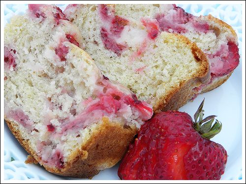 Fresh Strawberry Bread « Green House on Top of the Hill