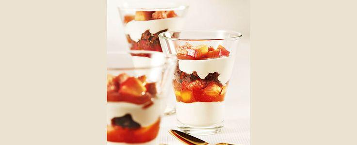 Parfait com Mix de Frutas