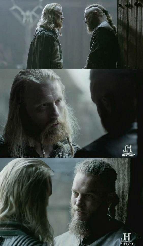 "Vikings 2x02 ""Invasion"" . Jarl Borg & Ragnar Lothbrok"