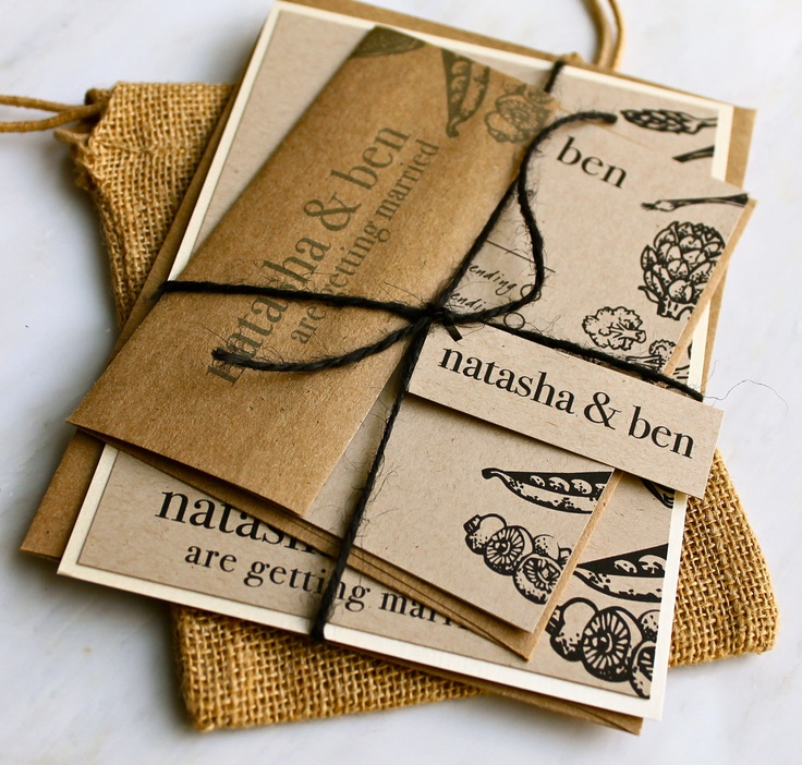 17 best images about eco-friendly wedding invitations on pinterest, Wedding invitations