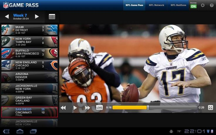 Live stream EVERY #NFL game without cable with NFL Game Pass International