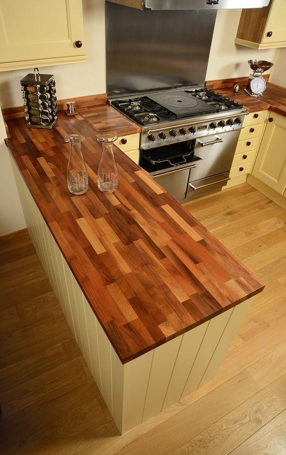 25+ parasta ideaa Pinterestissä Küche nussbaum Küche höffner - arbeitsplatte küche nussbaum