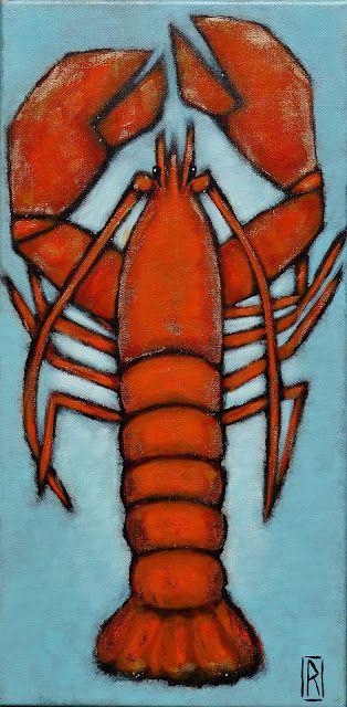 Mais toute l'année...   ... on peut être un homard rouge et le rester toute sa vie. Enfin bon, jusqu'au repas final. C'est triste.  En revan...