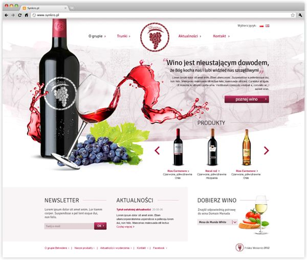 Our proposal of webpage for winery #rwd #responsive #webdesign #responsivewebdesign #synkro #wearesynkro #mobile #design #ipad #winery