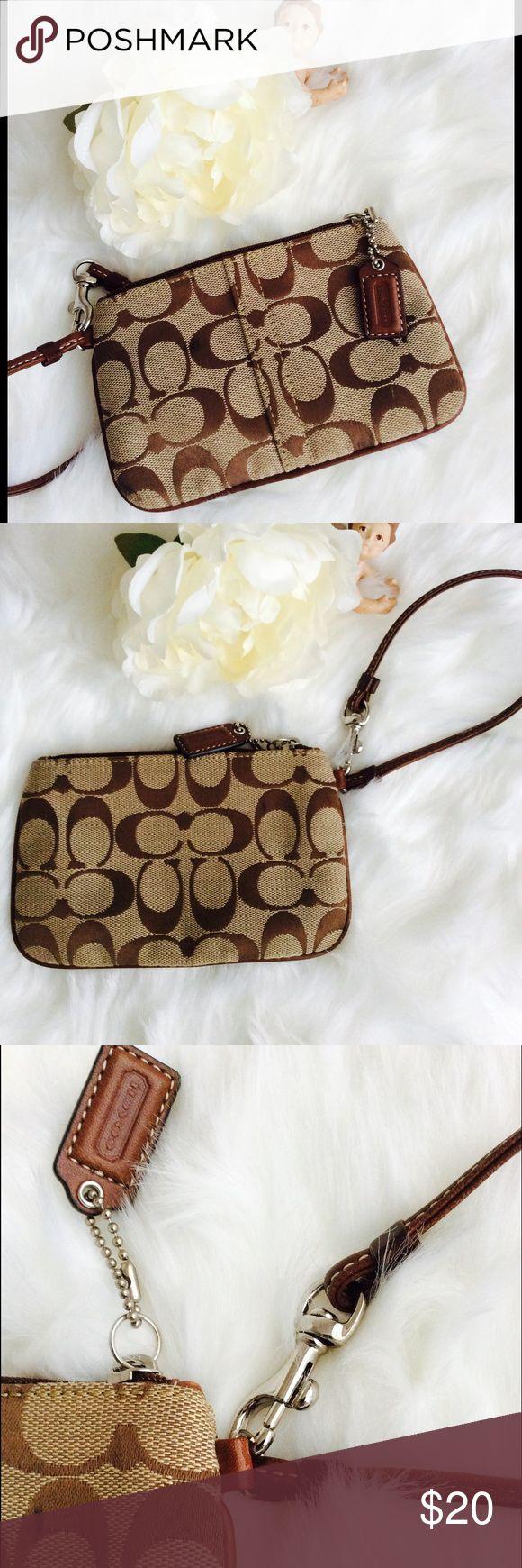 NWOT brand-new-COACH CLUTCH Brand-new-coach-clutch-purse, never been worn Coach Accessories Key & Card Holders