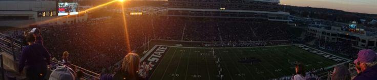 Bill Snyder Family Stadium at Kansas State University. Saturday November 29, 2014. K-State vs ku
