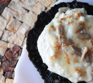 Γεμιστά μανιτάρια με μπλε τυρί και σκόρδο!