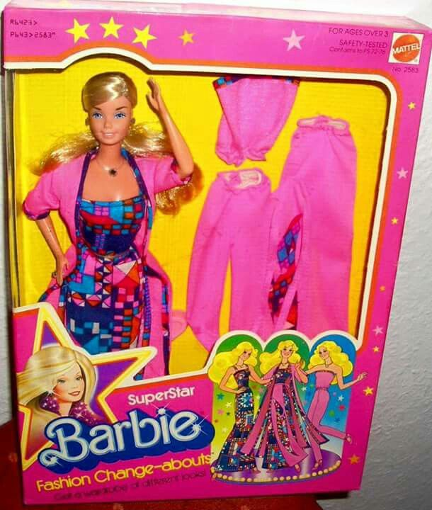 1987 Barbie - Fashion Change-Abouts (Superstar) #2523