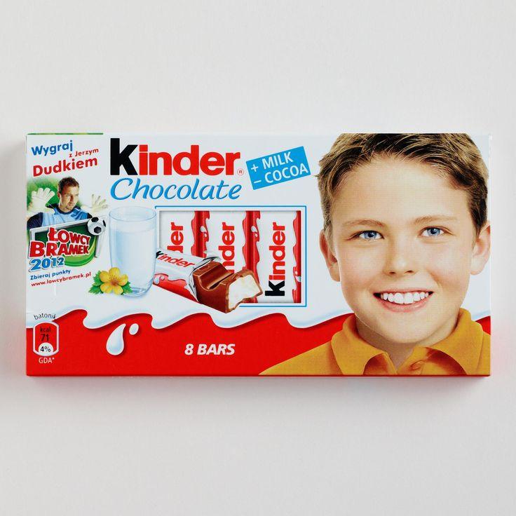kinder chocolat | Kinder Chocolate Bars, Set of 10 | World Market