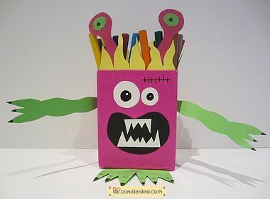 Porta lápices Halloween