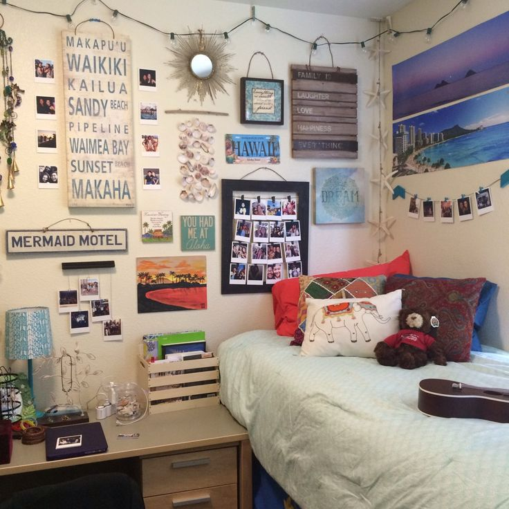 Beach Dorm Room Ideas - Interior Paint Color Ideas Check more at http://www.mtbasics.com/beach-dorm-room-ideas/