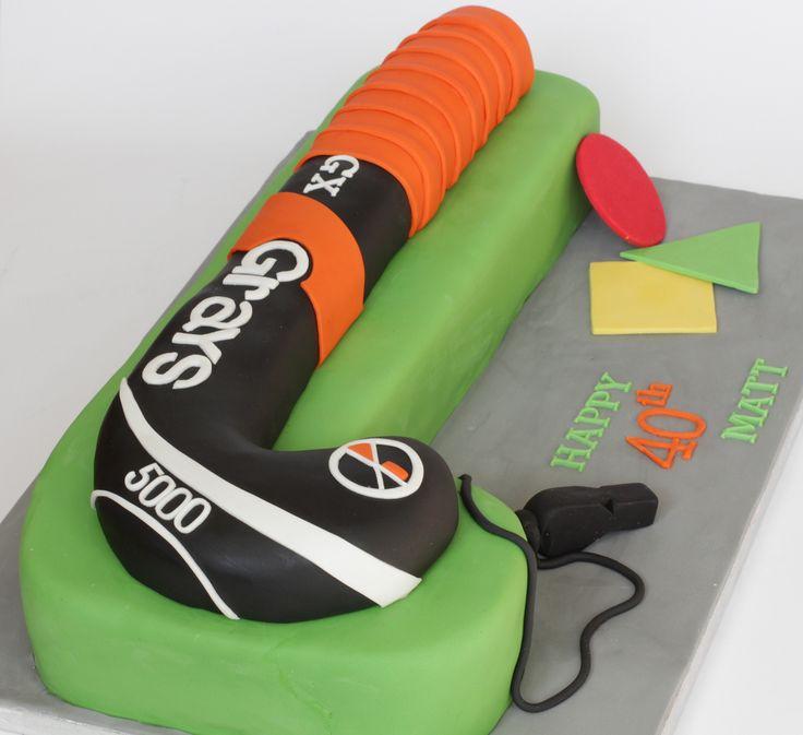 hockey cake | For a (field) hockey umpire on his 40th birthd… | Flickr - Photo Sharing!