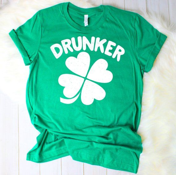 Drunk Drunker Drunkest Shirt St Patricks Day Drinking Group Bar Crawl Shirts Irish Paddys By TeeKittyKitty