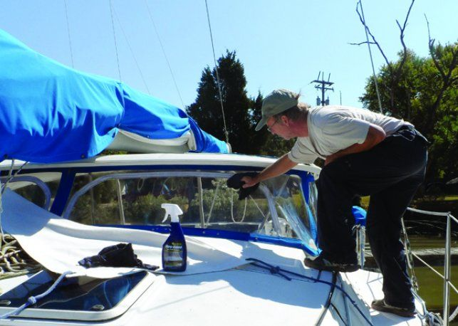 Preserving Plastic Windows - Inside Practical Sailor Blog Article