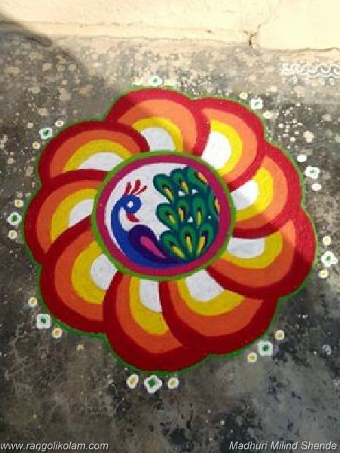 25+ best ideas about Small rangoli on Pinterest | Design ...