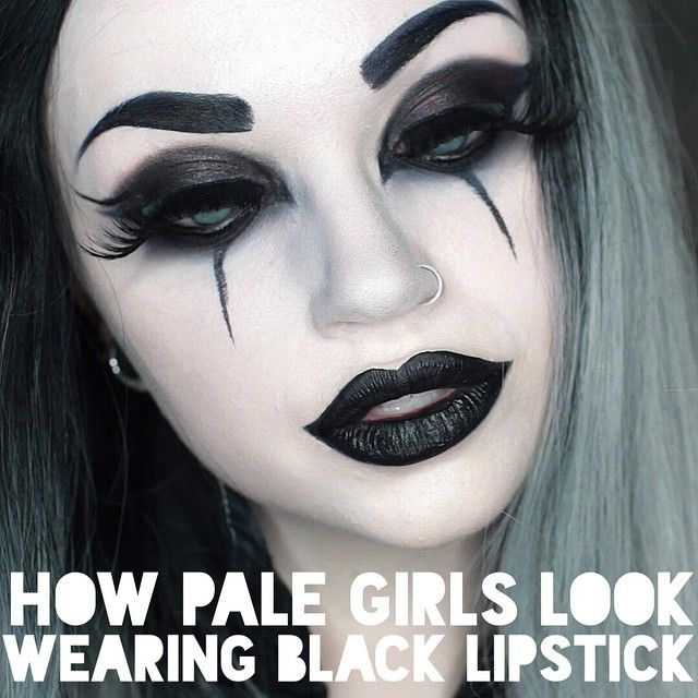 Some of you were really diggin my goth look in the new video about pale people problems.  Should this be my new everyday look? I've loved reading your comments in this one and I'm so glad the advice has been helpful! You guys rock, pale, goth, albino, or not. ✊