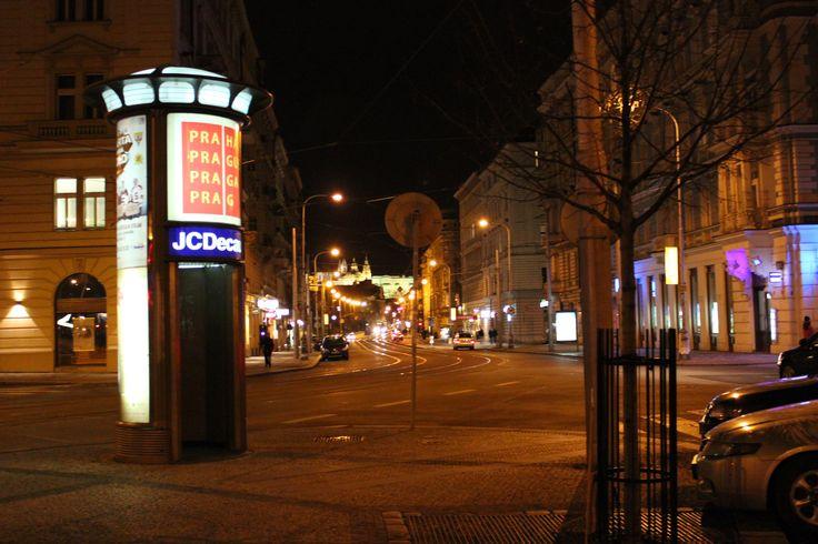 Újezd (tram) ve městě Praha, Hlavní město Praha ¨ At the Ujezd street in Prague, the capital of the Czech Republic
