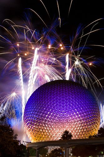 Day 28: Favorite Theme Park: EPCOT. - When I was younger I thought EPCOT was super boring. As an adult I have come to appreciate the food/alcohol available in the park. I really can't wait to experience the Food and Wine Festival someday! (30 Day Disney Challenge)