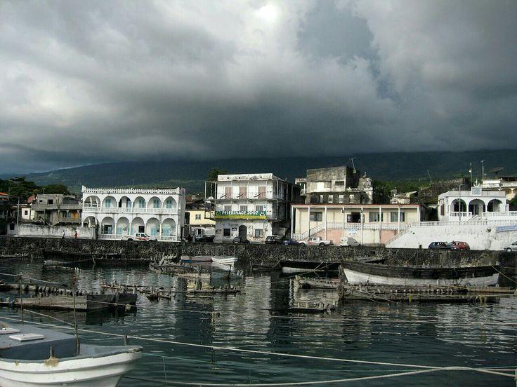 Portcity of Moroni, Capital of Comoros.