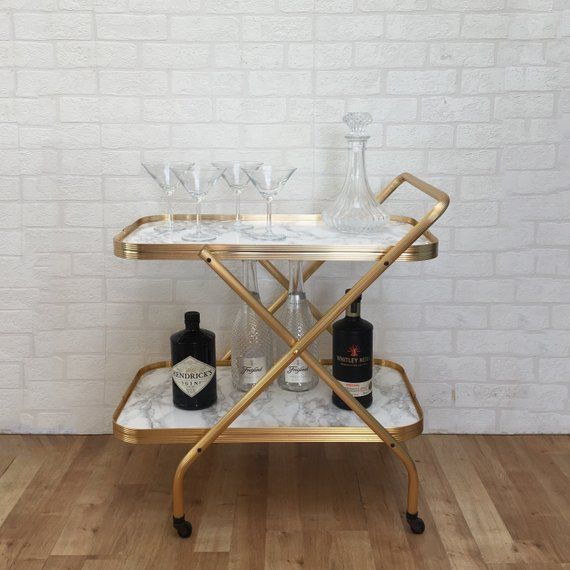 50s Glam 9 Bar Carts For Chic Entertaining Bar Cart Decor Bar Furniture Home Bar Areas