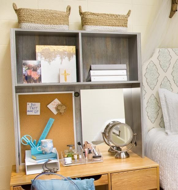 Decorating Ideas > 17 Best Images About Designer Dorm Rooms On Pinterest  ~ 233542_Dorm Room Shelf Ideas