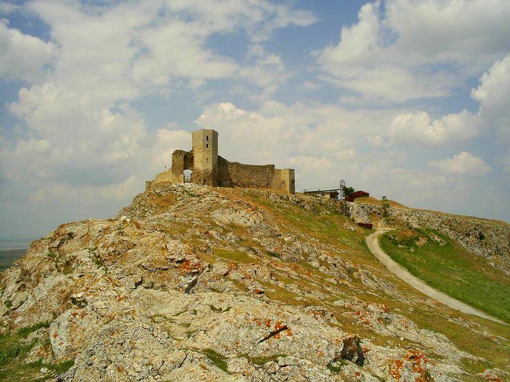 Enisala fortress. 14th century fortress. Dobrogea, Romania