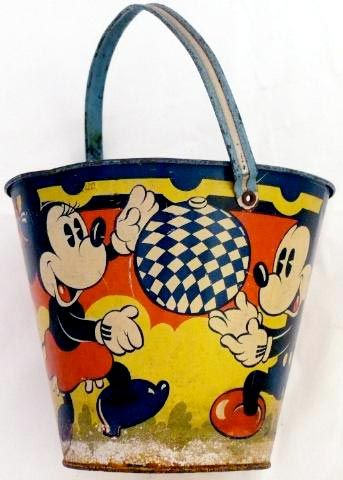 Micky and Minnie sandpail.