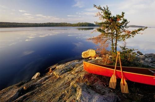 Quetico Provincial Park- too far...but would love to camp there some day.