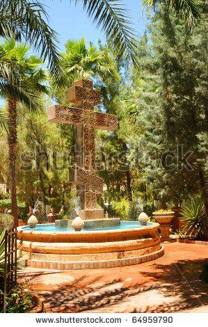Cross of the Greek Orthodox Monastery St Anthony In Arizona, USA  www.liberatingdivineconsciousness.com