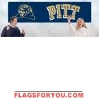 Pittsburgh Panthers Banner 8' x 2'