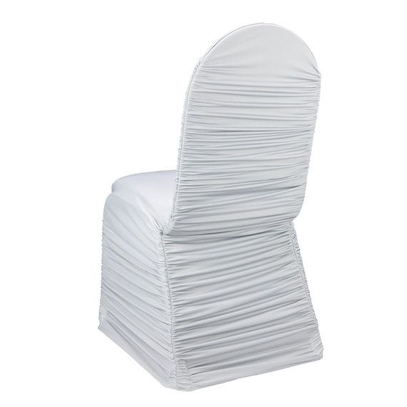 Spandex Chair Covers Ruched Chair Cover Wedding Chair by wedsource